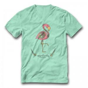 Majestically Awkward Flamingo - Tee